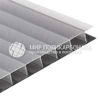 Сотовый поликарбонат цвет серебро