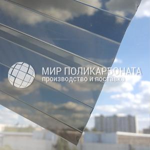 Профилированный поликарбонат бронза серая