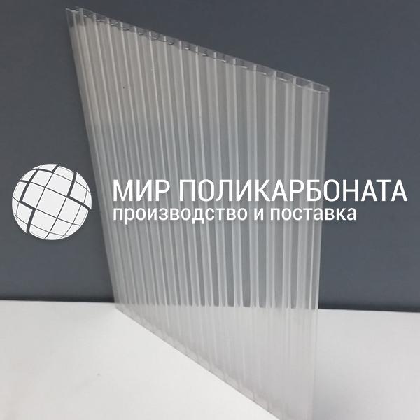Фото прозрачного поликарбоната для теплиц