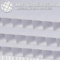 Сотовый поликарбонат 16 мм 3R опал