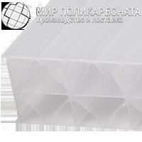 Сотовый поликарбонат 16 мм опал