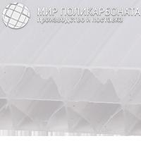 Сотовый поликарбонат 20 мм опал