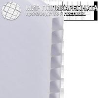 Сотовый поликарбонат 6 мм опал