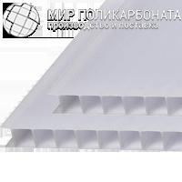 Сотовый поликарбонат 8 мм опал